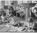A Montessori Classroom in the Early 1900s