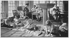 A Montessori Classroom in the Early 1900s