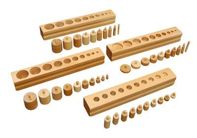 Montessori Cylinder Blocks