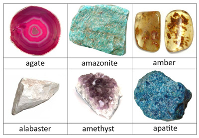 Free Rocks and Minerals Classified Cards from Little Schoolhouse in the Suburbs