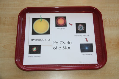 Life Cycle of a Star (Photo from Counting Coconuts)