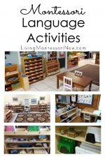 Montessori Language Activities
