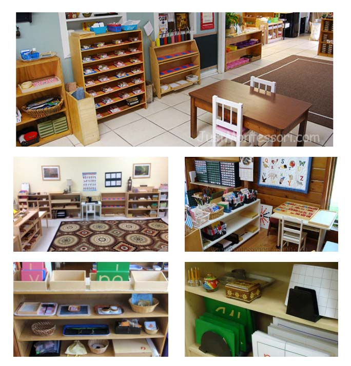 Montessori Language Areas