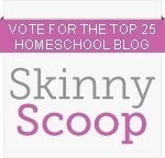 Skinny Scoop Top 25 Homeschool Blogs