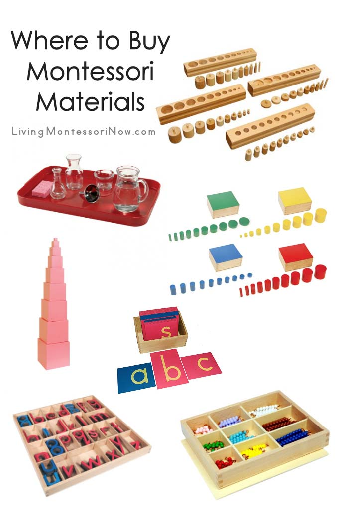 Where to Buy Montessori Materials
