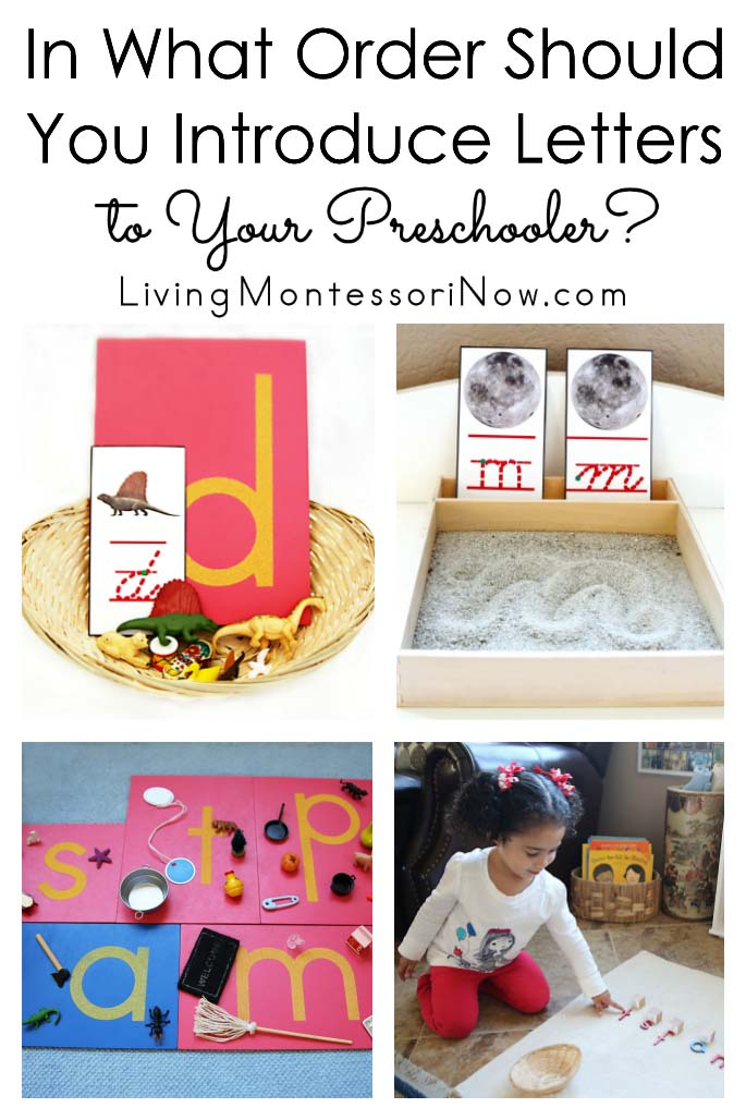 In What Order Should You Introduce Letters to Your Preschooler?