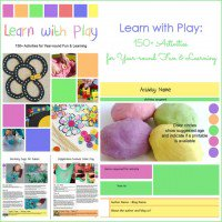 Learn with Play: 150+ Activities for Year-round Fun and Learning
