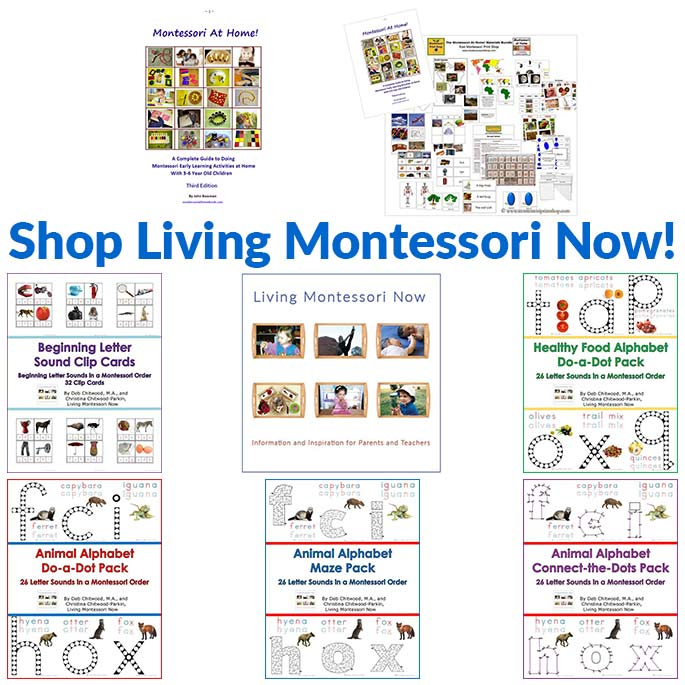 Living Montessori Now Shop Products
