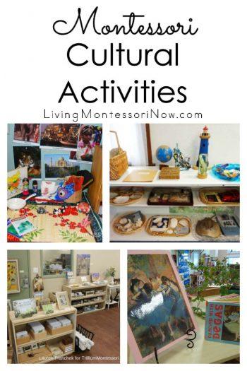 Montessori Cultural Activities