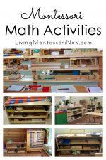 Montessori Math Activities