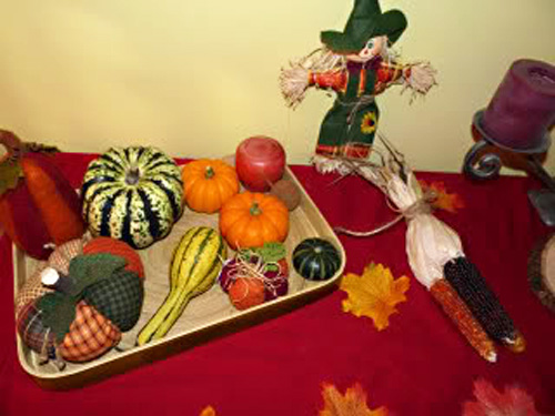 Fall Nature Table (Photo from The Wonder Years)