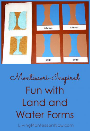 Montessori-Inspired Fun with Land and Water Forms