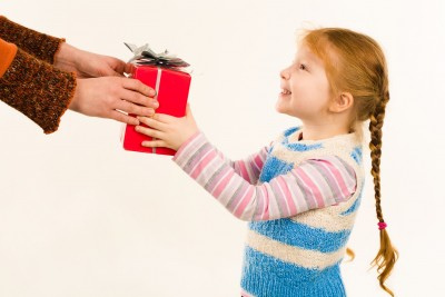 How to Teach Your Child to Say Thank You for Holiday Presents
