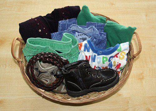 Activity of the Week – Dressing Basket