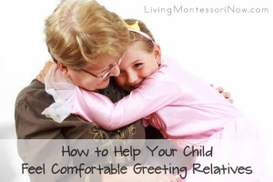 How to Help Your Child Feel Comfortable Greeting Relatives