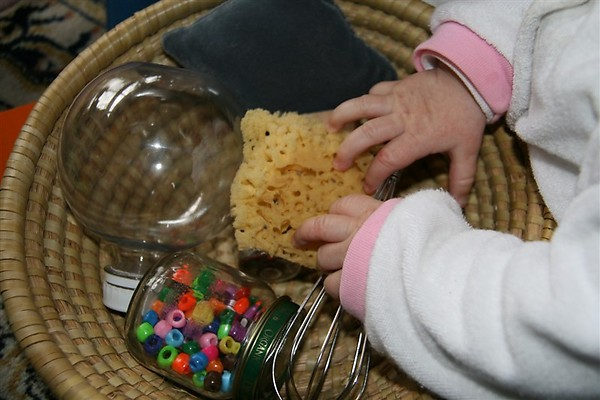 E's Treasure Basket (Photo from Chasing Cheerios)