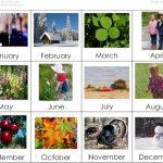 Months of the Year Cards (Image from Montessori for Everyone)