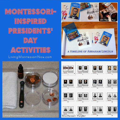 Montessori-Inspired Presidents' Day Activities