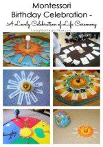 Montessori Birthday Celebration – A Lovely Celebration of Life Ceremony