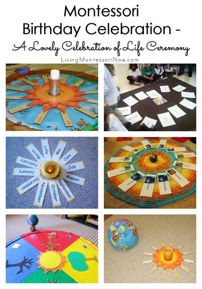 Montessori Birthday Celebration - A Lovely Celebration of Life Ceremony