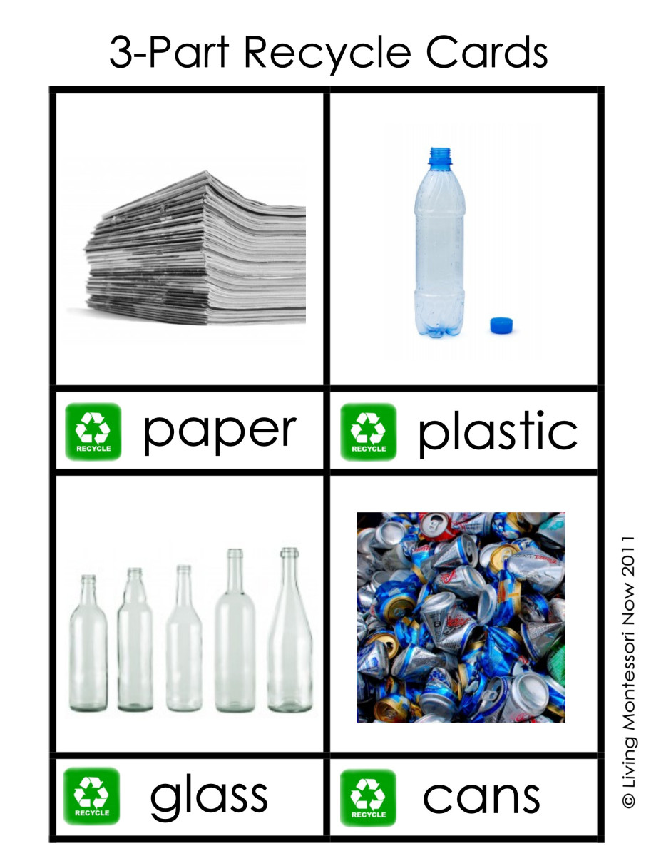 printable recycling labels