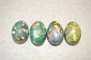 Batik Eggs (Photo from A Bunch of Keys)