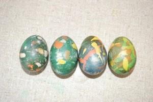 Batik Eggs (Photo from A Bunch of Keys)