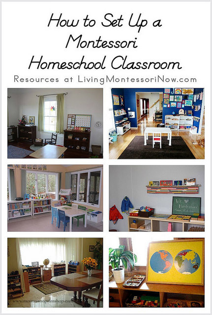 How to Set Up a Montessori Homeschool Classroom