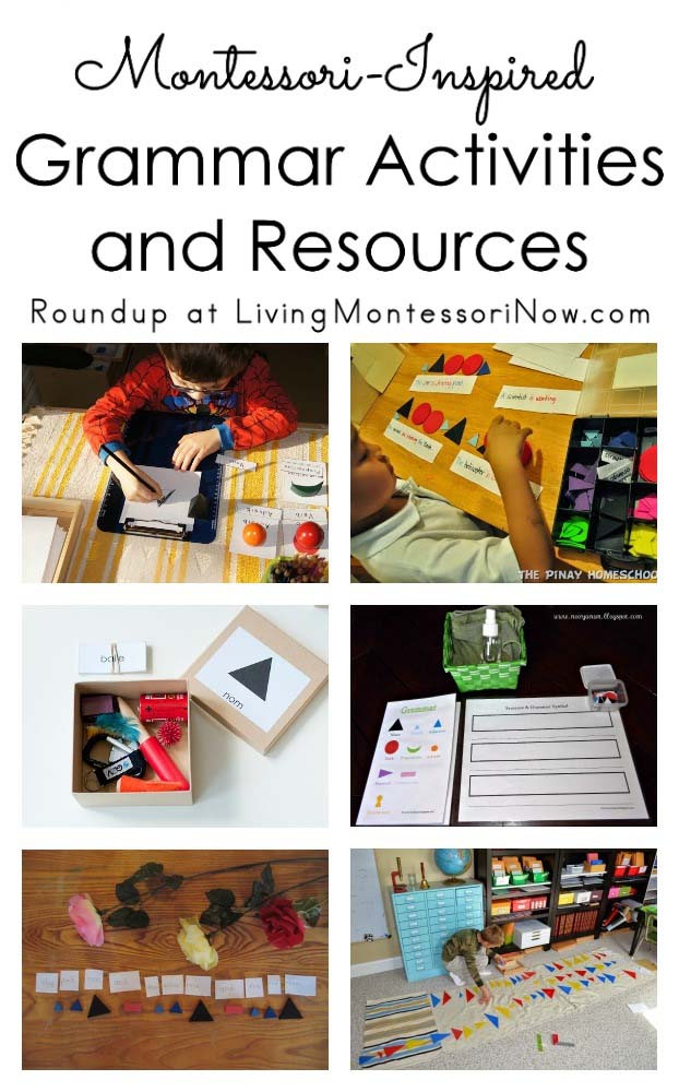 Montessori Monday Montessori Inspired Grammar Activities And Resources
