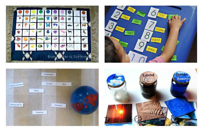 Montessori-Inspired Spanish Activities and Printables- 1