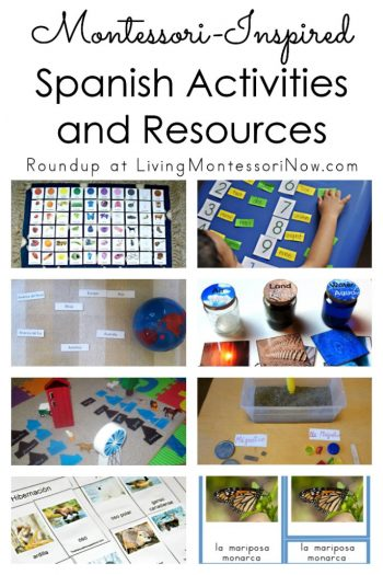 Montessori-Inspired Spanish Activities and Resources
