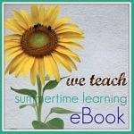 we teach summer ebook button
