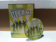 Ready, Set, Clean! DVD