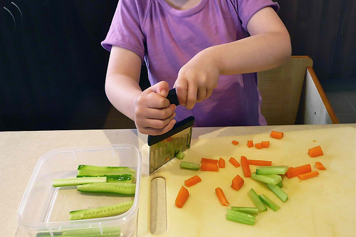 Food Preparation (Photo from How We Montessori)