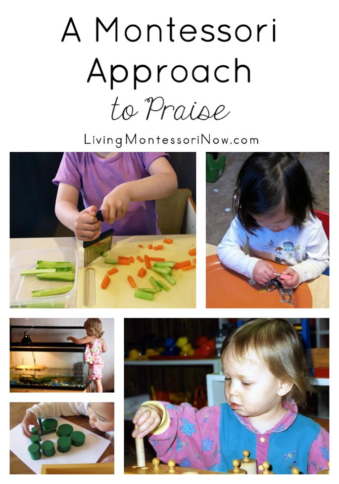 A Montessori Approach to Praise {Montessori Monday}