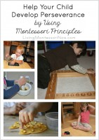 Help Your Child Develop Perseverance by Using Montessori Principles