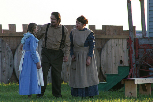 The Laura Ingalls Wilder Pageant, De Smet, South Dakota, July 8, 2011
