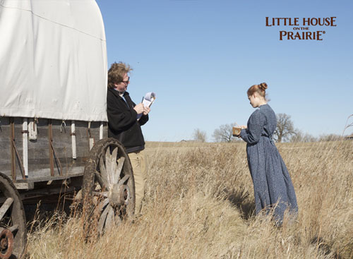 On the Set of the Little House on the Prairie Documentary