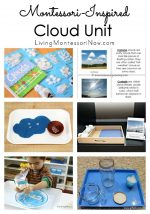 Montessori-Inspired Cloud Unit  {Montessori Monday}