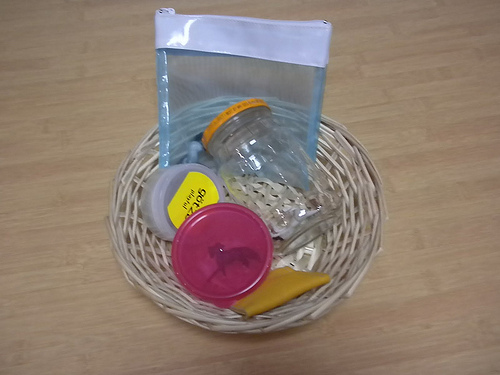 Open and Close Basket (Photo from Discovery Days and Montessori Moments)