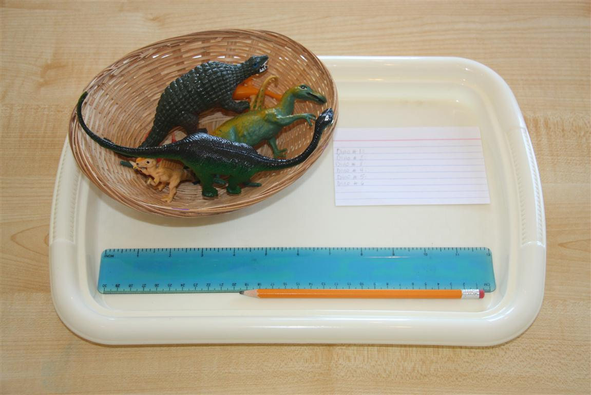 Measuring Dinosaurs Activity (Photo from Counting Coconuts)