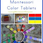 Montessori Monday – DIY Color Tablets