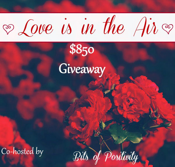 $850 Love is in the Air Cash Giveaway
