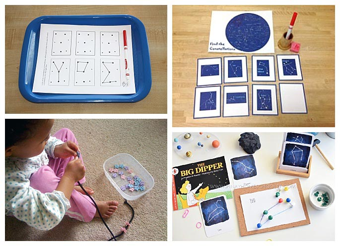 Montessori-Inspired Star and Constellation Activities