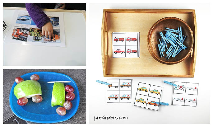 Montessori-Inspired Transportation Activities