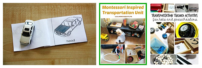 Montessori-Inspired Transportation Units