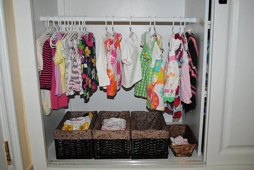 Montessori Toddler Closet (Photo from Vibrant Wanderings)