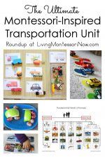 The Ultimate Montessori-Inspired Transportation Unit