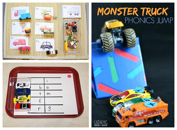 Transportation Phonics Activities