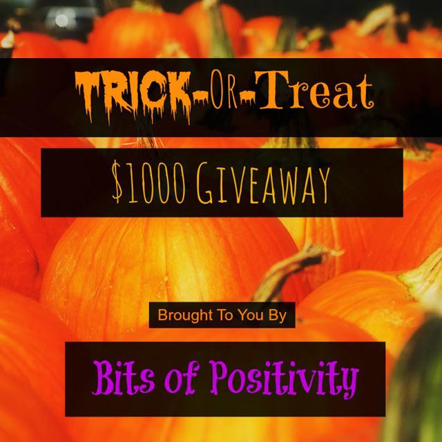 Trick-or-Treat $1000 Giveaway